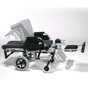 silla de ruedas reclinable - eclips-x4